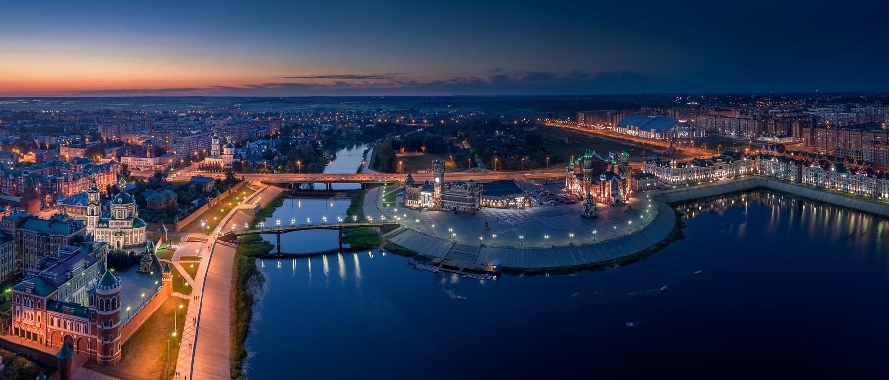 Йошкар-Ола с высоты. Июнь 2019. город как на ладони,фото,аэрофото,аэрофотосъемка,высота,захватывающие картинки города,Йошкар-Ола,квадрокоптер,красивые фотографии с высоты,все о городе,dji
