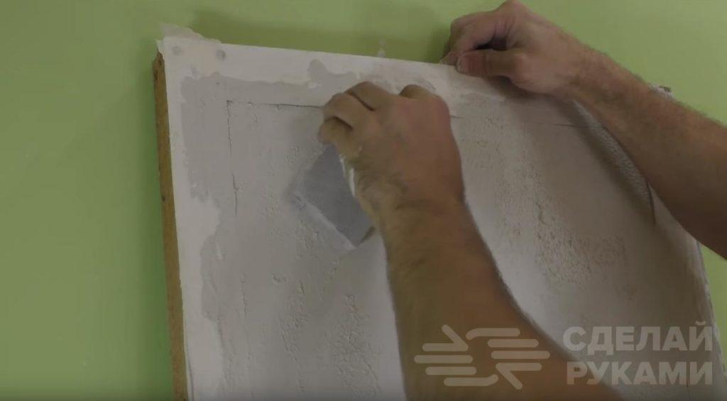 Штукатурка с эффектом ржавчины в стиле лофт Самоделки