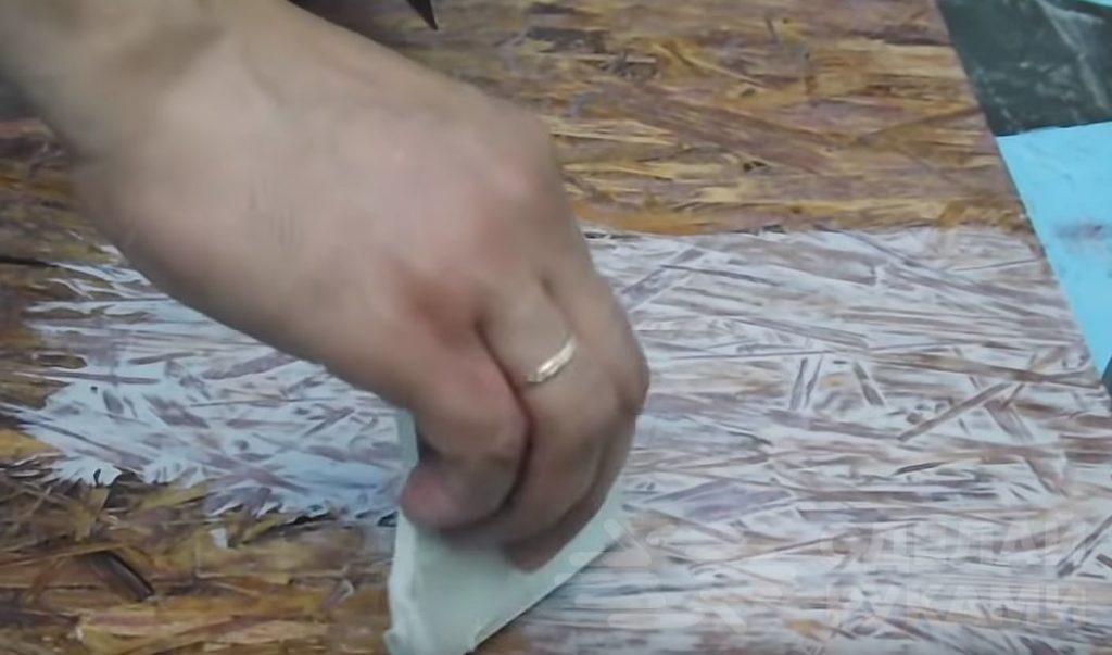3 способа декоративной покраски ОСБ плит Самоделки