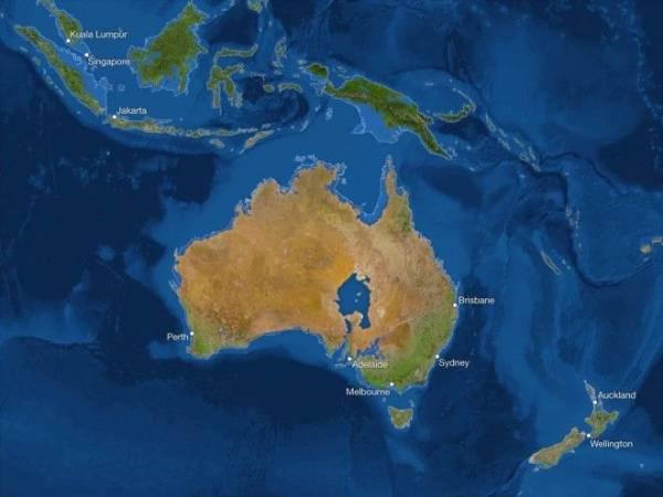 Вот как будет выглядеть наша планета, если растают все ледники Интересное