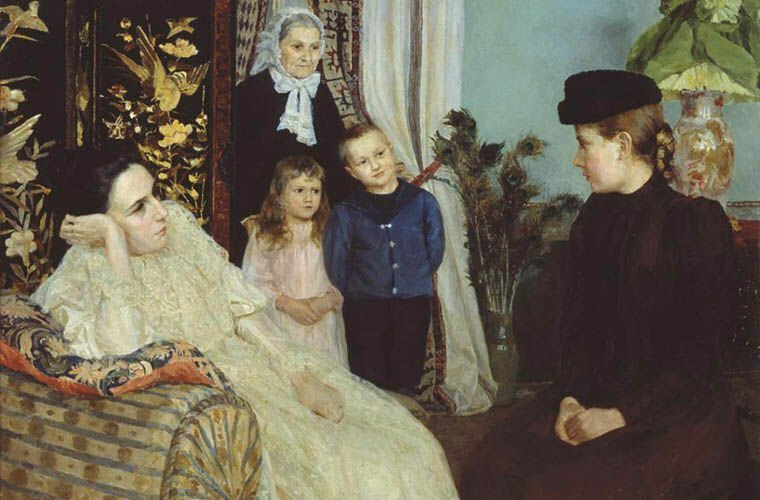 Правила жизни иностранной гувернантки в России Интересное