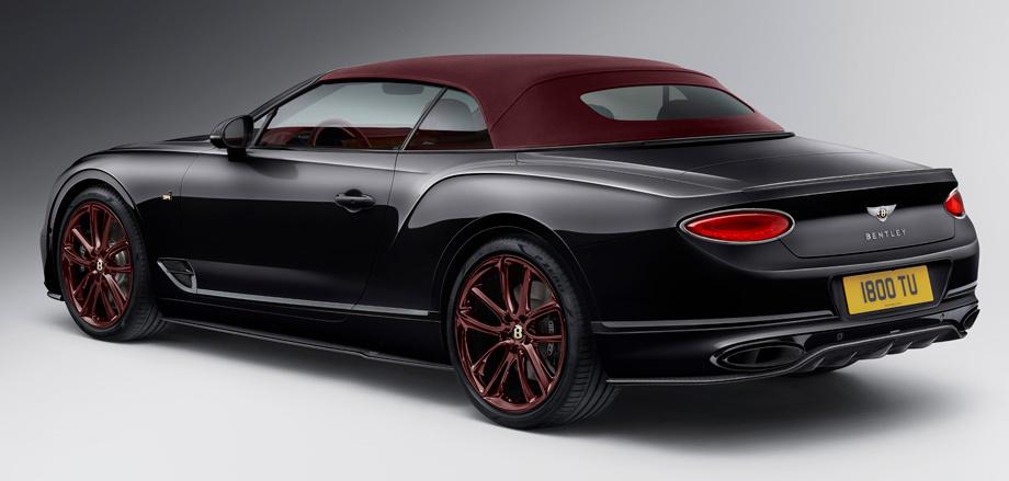 Кабриолет Bentley Continental GT Number 1 отличился спиннером Авто и мото
