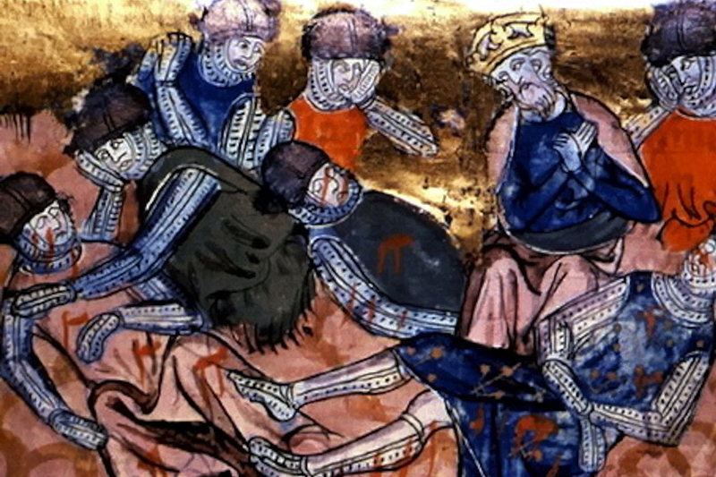 Истоки средневекового рыцарства: эпоха Карла Великого История