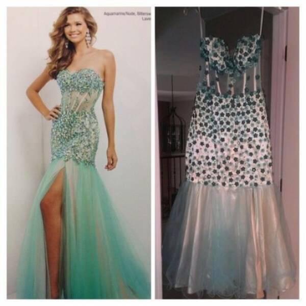 Как выглядят в жизни популярные платья из интернета Интересное