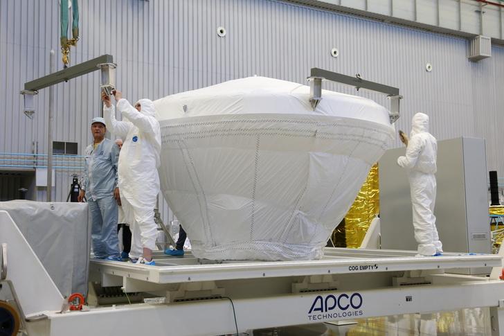 Отправлены составные части десантного модуля «ЭкзоМарса» Авиация,сделано у нас