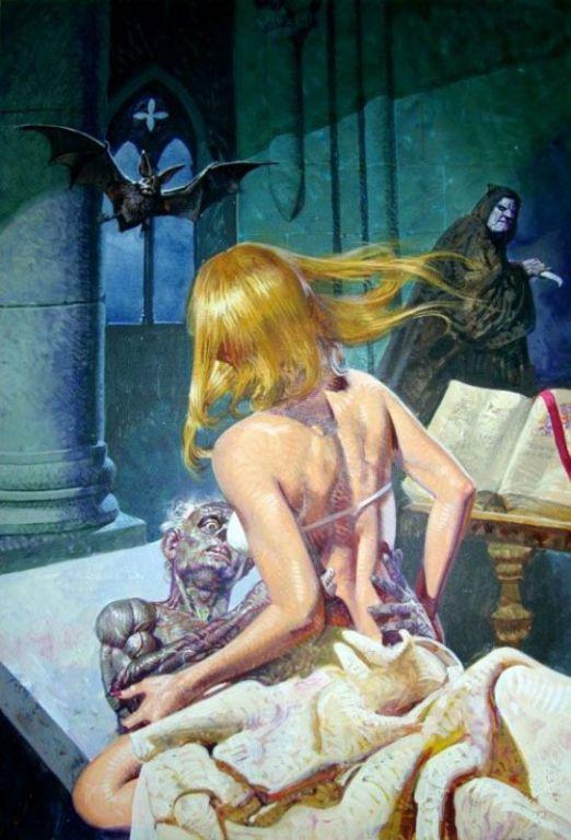 Странная хоррор-эротика Эммануэля Таглиетти: как сексуальность и страх сделать смешными Культура и искусство
