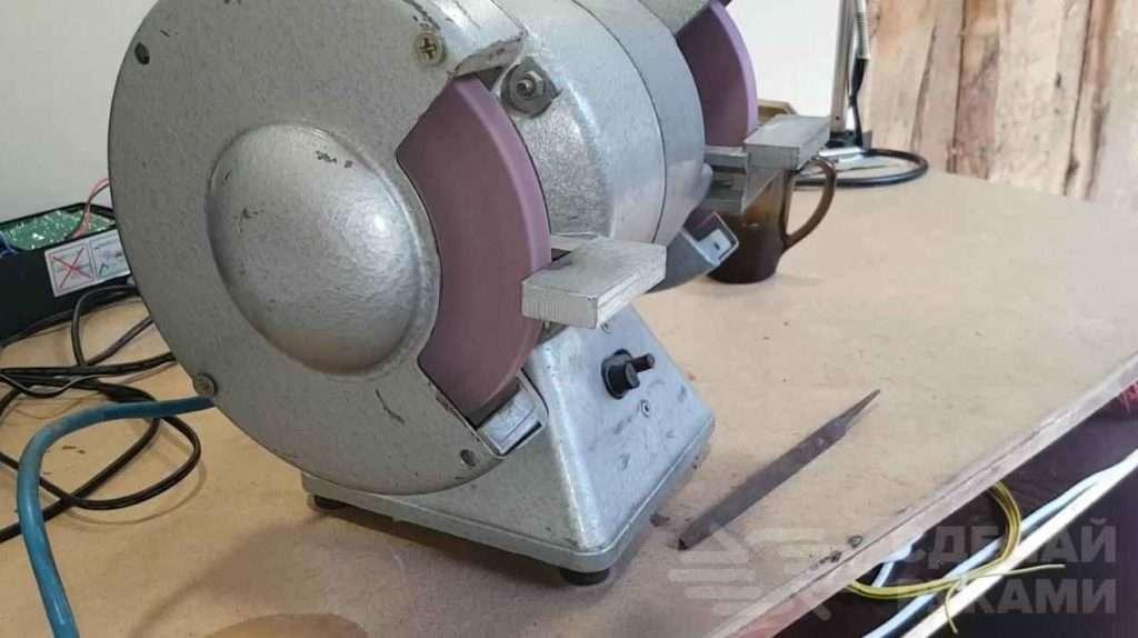 Как сделать точило для ножей из старого напильника Самоделки