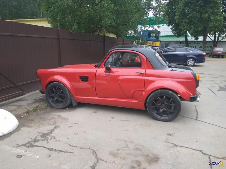 Тотально изуродованный Москвич-407 Интересное