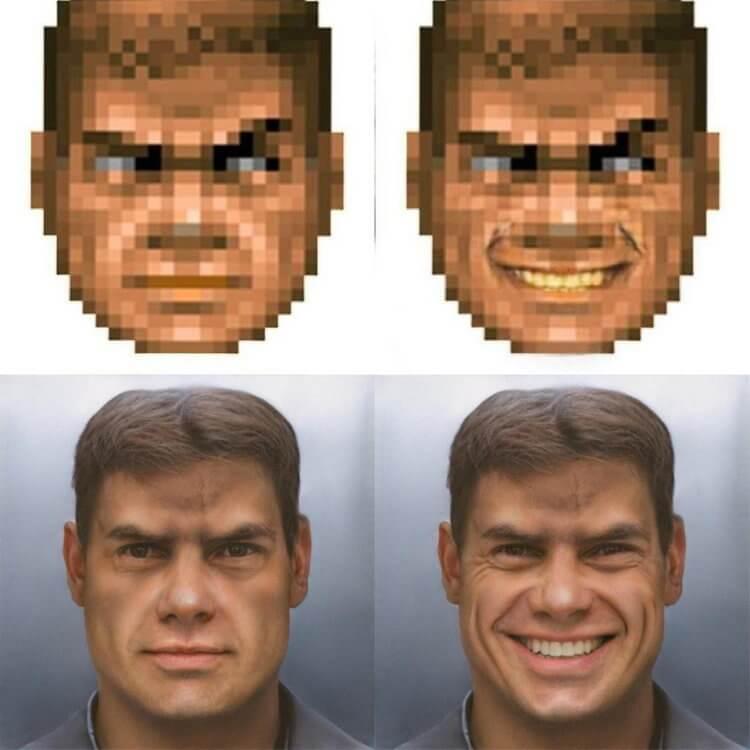 Нейронные сети научили превращать пиксельные изображения в фотореалистичные Интересное