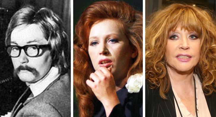 14 российских звезд, которые в начале своей карьеры выглядели словно другие люди Интересное