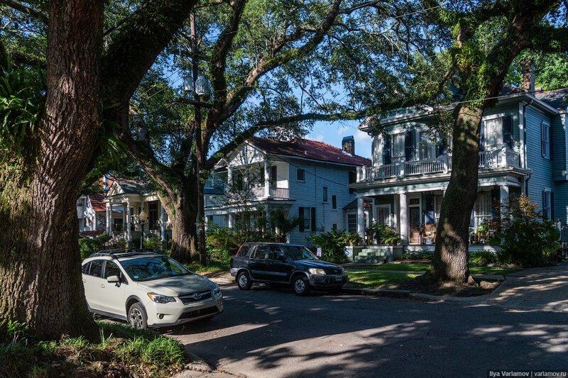 Новый Орлеан: жара, трамваи и цветные дома. Путевые заметки, день 7   туризм и отдых