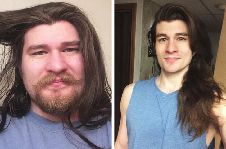 11 похудевших мужчин, которые дадут фору голливудским красавчикам Интересное