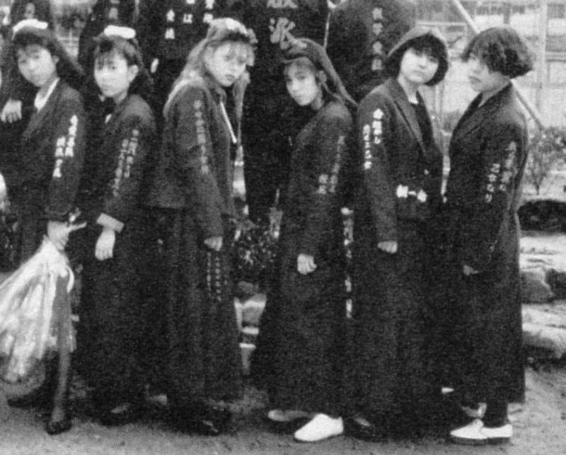 Сукэбан: дерзкие девчонки, которые держали в страхе всю Японию   Интересное