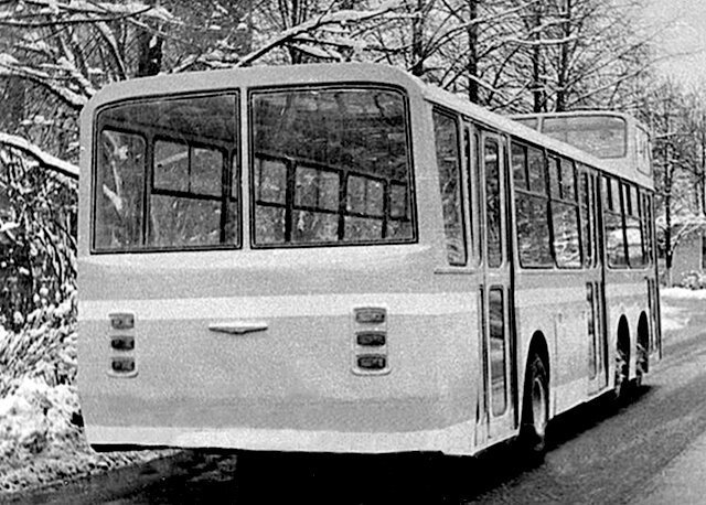Автобус с рубкой. Ходовой макет автобуса НАМИ-0159 авто