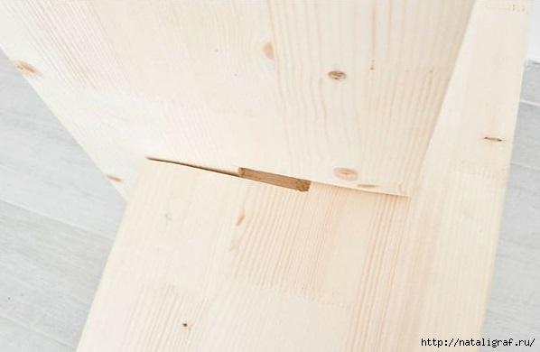 Полочка-подставка для всяких нужных предметов полочка своими руками,рукоделие,своими руками