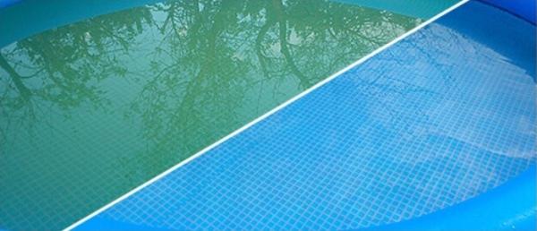 Как очистить воду в бассейне. Проверенный способ советы