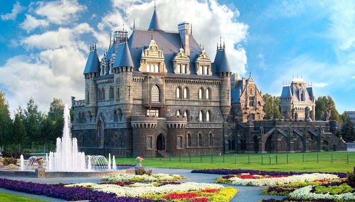 Гарибальди: замок в Самарской области, где от любителей фотосессий нет отбоя архитектура,замок Гарибальди,Самарская обасть,шевевры архитектуры