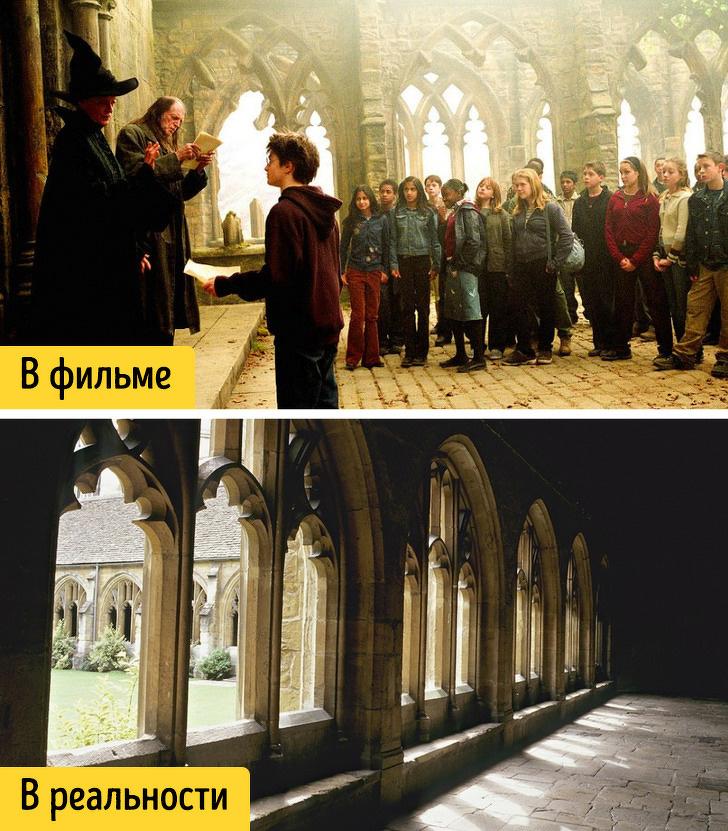 16 магических мест планеты, которые стали источником вдохновения для авторов фильмов о Гарри Поттере достопримечательности,интересное,кино