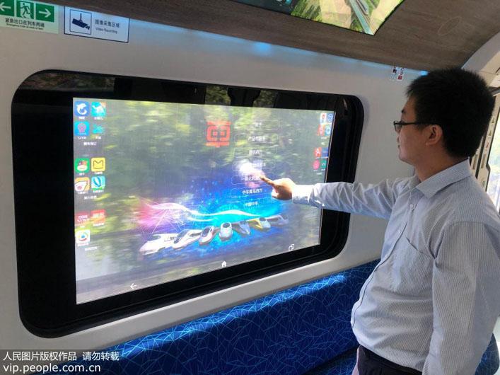 Китай успешно испытал поезда «интеллектуального» метро нового поколения китай,метро