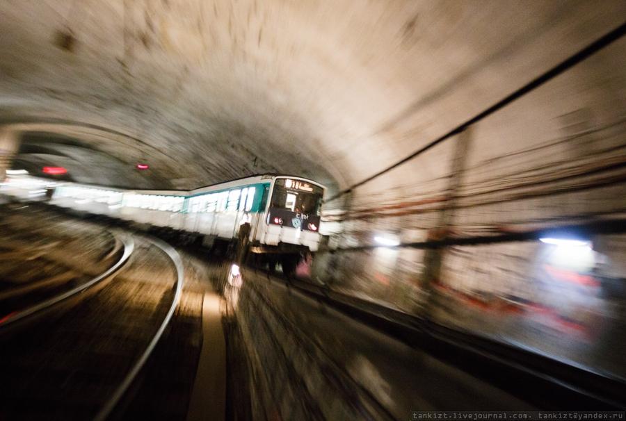 Подземный Париж города,заграница,страны,туризм