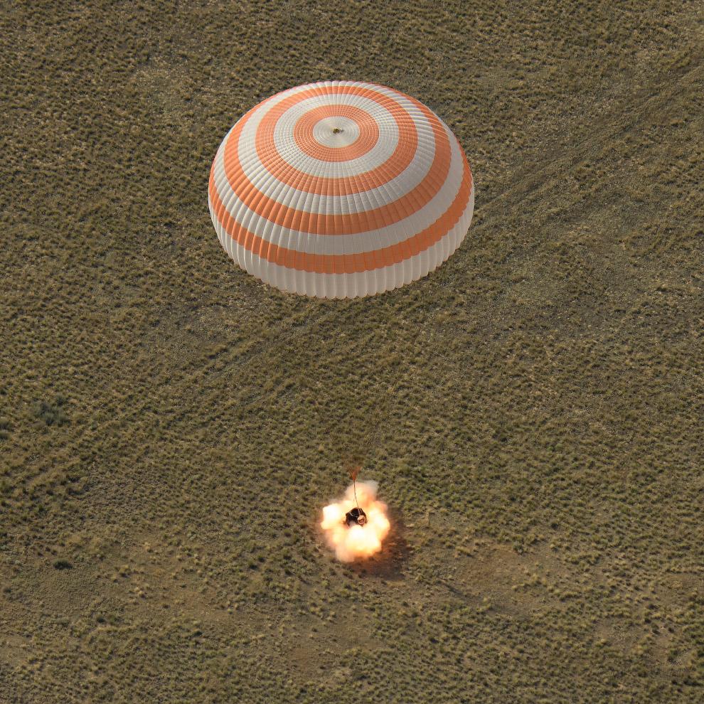 Как космонавты возвращаются на Землю возвращение на Землю,космонавты,космос,познавательно