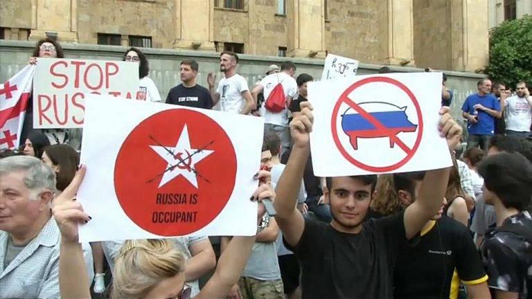 Грузинский национализм. И повторится всё, как встарь геополитика