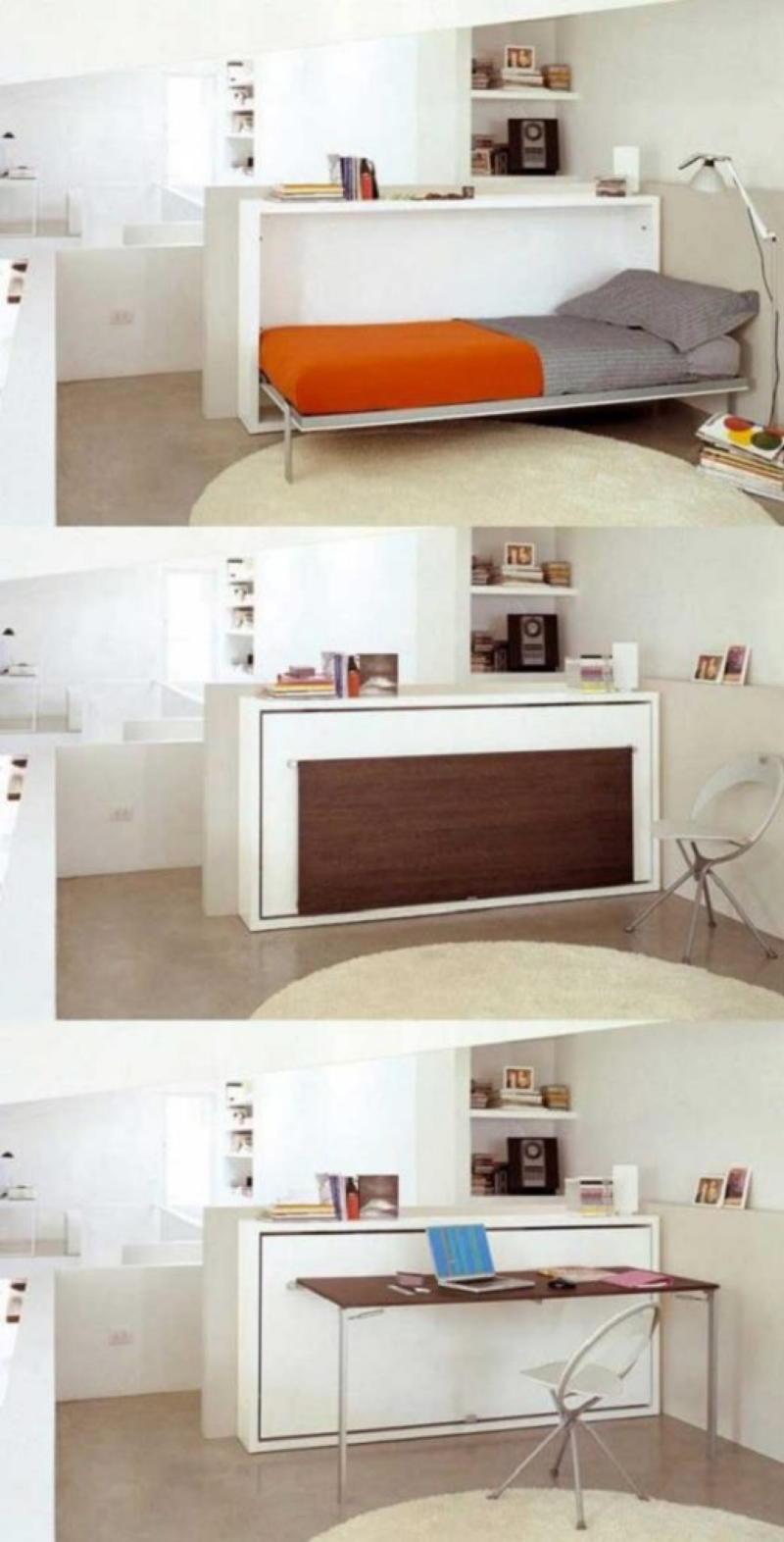 Идеальный дом: практичные идеи экономии драгоценного пространства организация пространства,хранение
