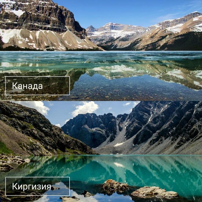 На какие страны похожа Киргизия? из жизни,позитив