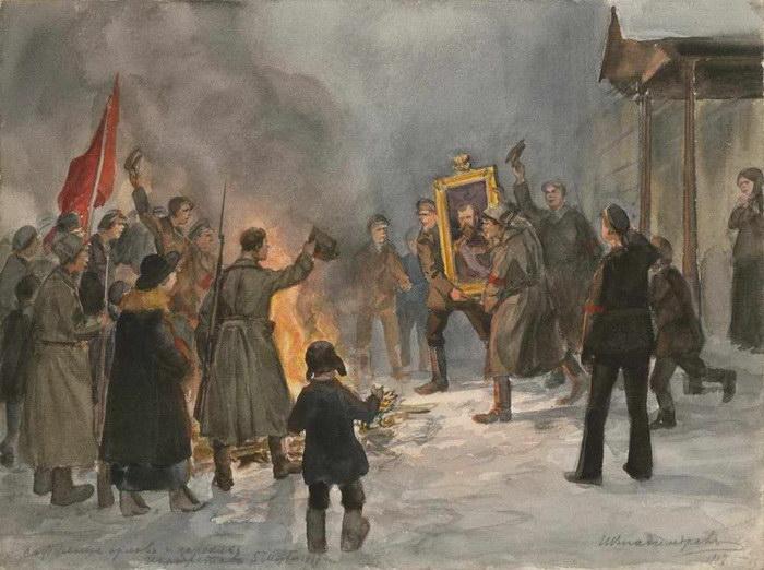 Революция 1917 года в картинах Ивана Владимирова