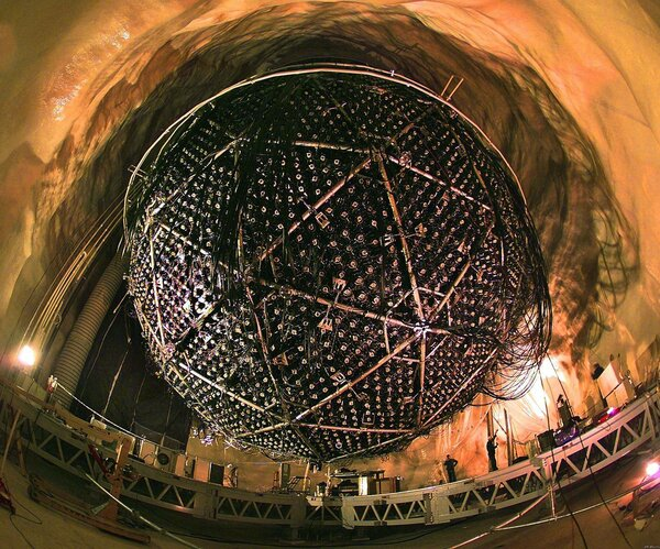 Как поймать нейтрино наука,физика