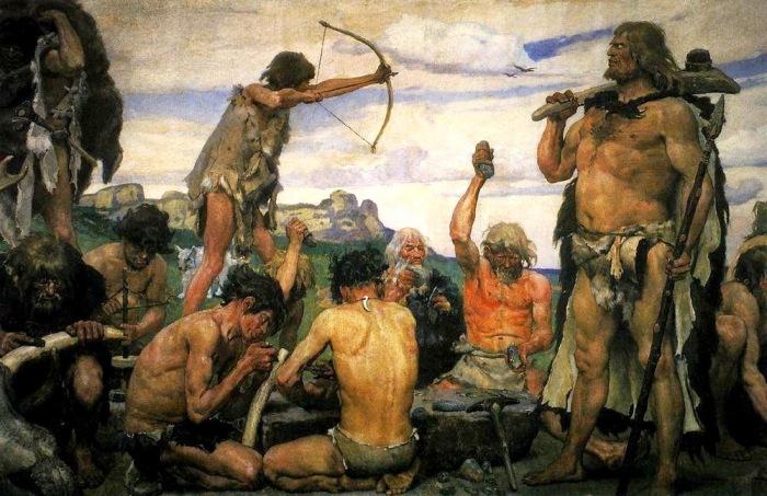Какой была гигиена первобытных людей: Тайны, открытые могилами каменного века археология,гигиена,история,первобытные люди,человек