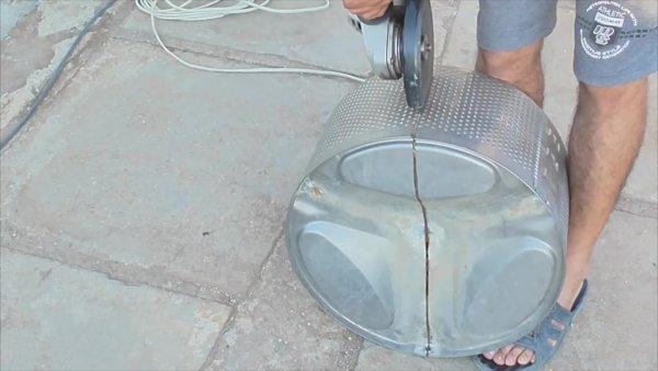 Супер-мангал из барабана стиралки