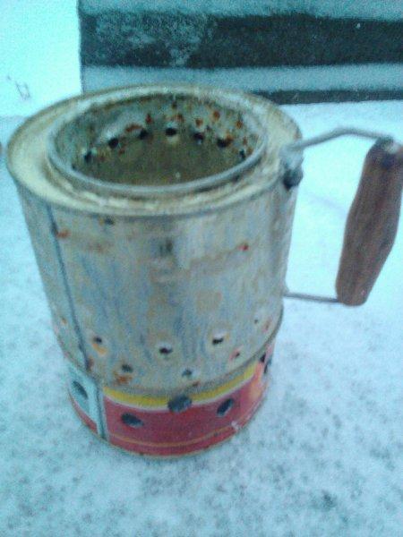 Походная пиролизная печь улучшенной конструкции из консервных банок самоделкин