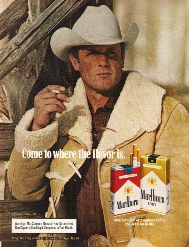 5 фактов о ковбоях из рекламы Мальборо, которые умерли из-за курения реклама,сигареты