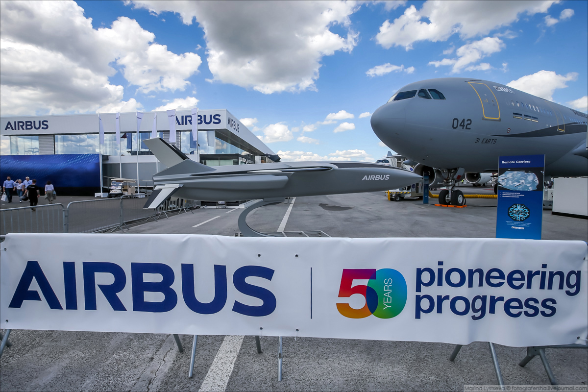 Новинки от Airbus, фаворита Ле Бурже-2019 airbus,авиация,Ле Бурже-2019