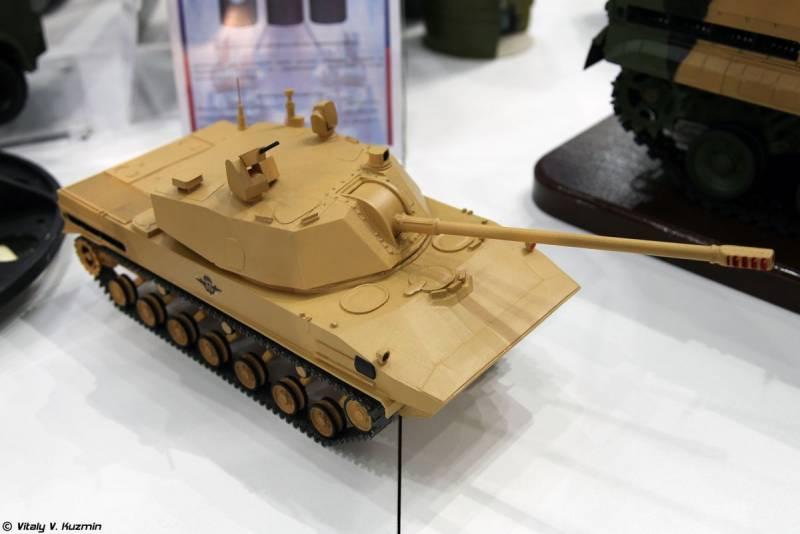 Самоходное артиллерийское орудие «Лотос». Перед испытаниями и доводкой оружие