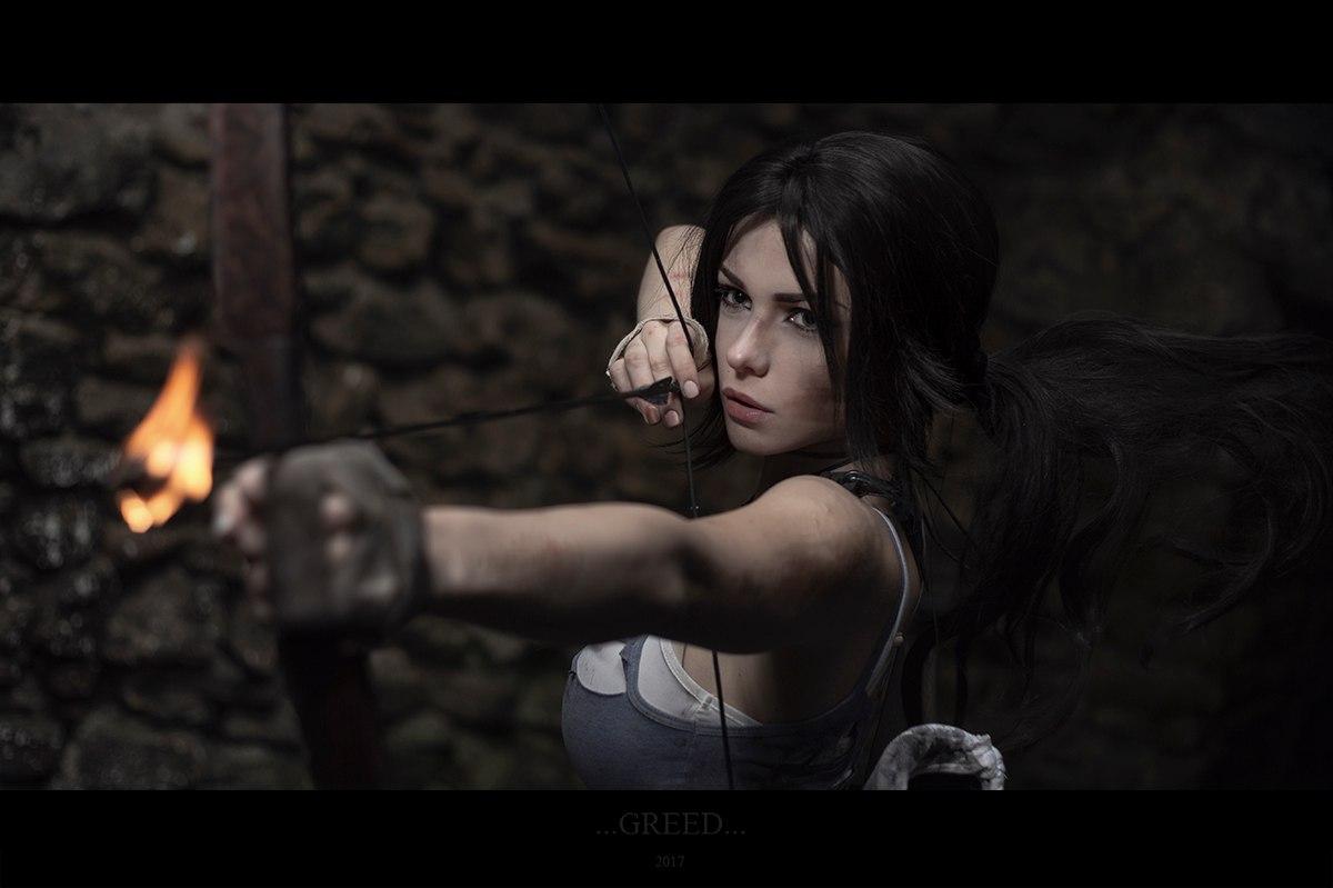 Tomb Raider - косплей от Ирины Мейер Игры,косплей