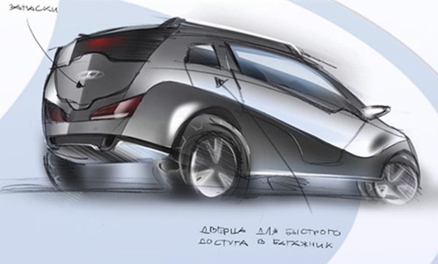 Прототип Lada Kalina 4x4, который даже не собирались запускать в серийное производство