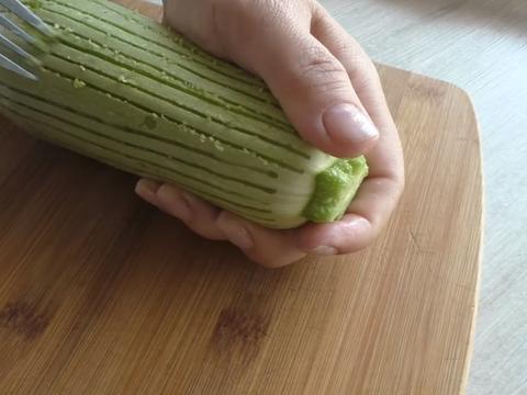 Поцарапайте кабачки для этого рецепта вилкой - будет вкуснее женские хобби,Кабачки,кулинария,рукоделие,своими руками