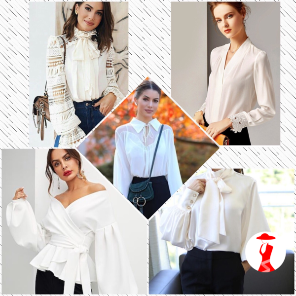Новинки блузок 2019: стильные образы на каждый день