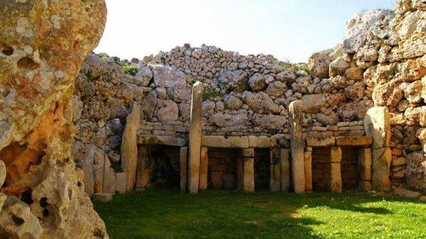 Куда делась цивилизация карликовых людей и животных с острова Мальта? археология,архитектура,Мальта,цивилизации